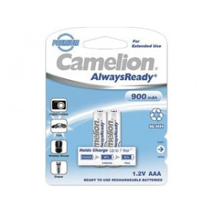 Аккумулятор Camelion AAA-900-BP2 NH Always Ready 24/480